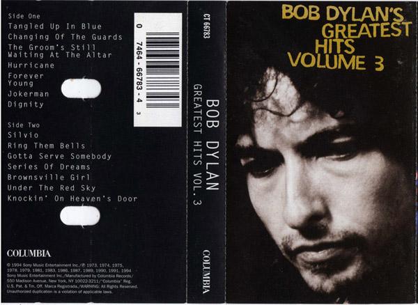 Bob Dylan - Greatest Hits - Volume 3