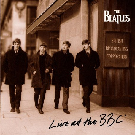 The Beatles Live At BBC Cover