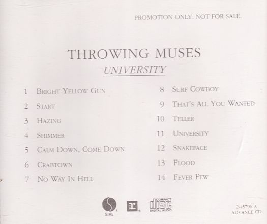 Throwing Muses - University