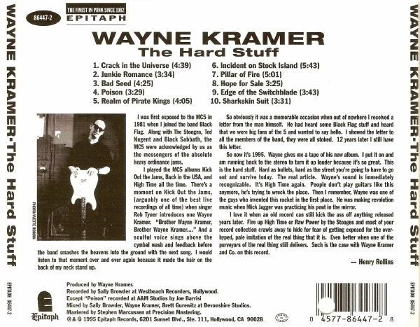 Wayne Kramer - The Hard Stuff