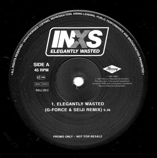 INXS - Elegantly Wasted