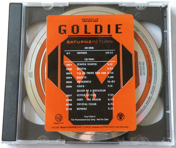 GOLDIE - Saturnz Return