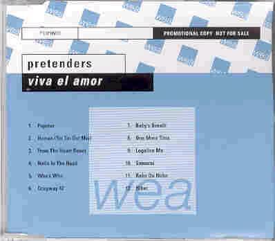 Pretenders - Viva El Amor!