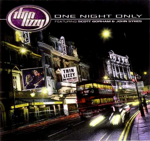 Thin Lizzy One Night Only Cover
