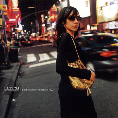 PJ Harvey Stories From The City, Stories From The Sea Cover