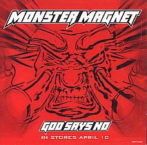 Monster Magnet, God Says No, Cover
