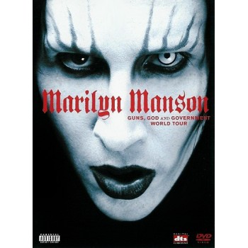 Marilyn Manson Guns God Government DVD Cover