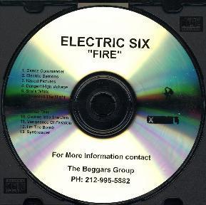 Electric Six - Fire