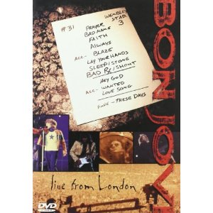 Bon Jovi Live From London Cover