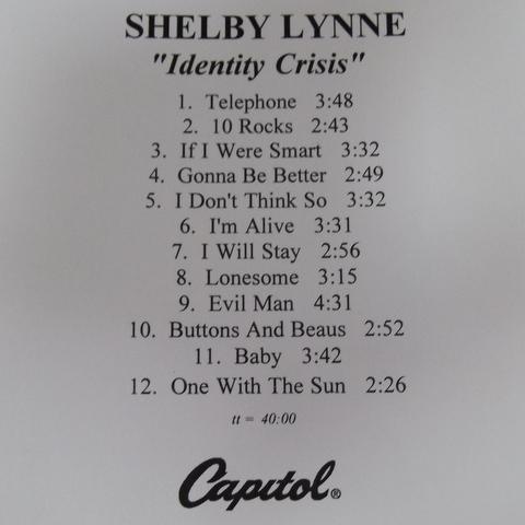 Shelby Lynne - Identity Crisis