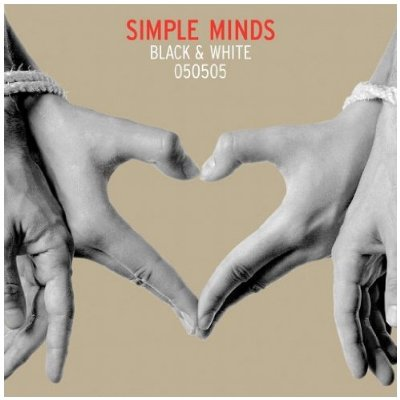 Simple Minds Black And White Cover
