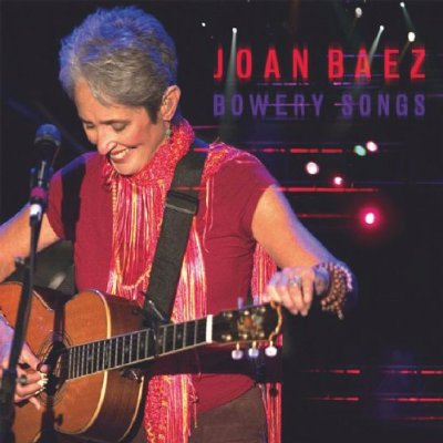 Joan Baez Bowery Songs Cover