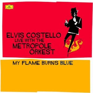 Elvis Costello My Flame Burns Blue Cover