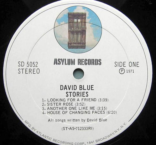 David Blue-Stories