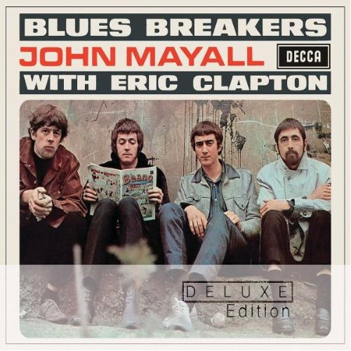 Blues Breakers With Eric Clapton Cover