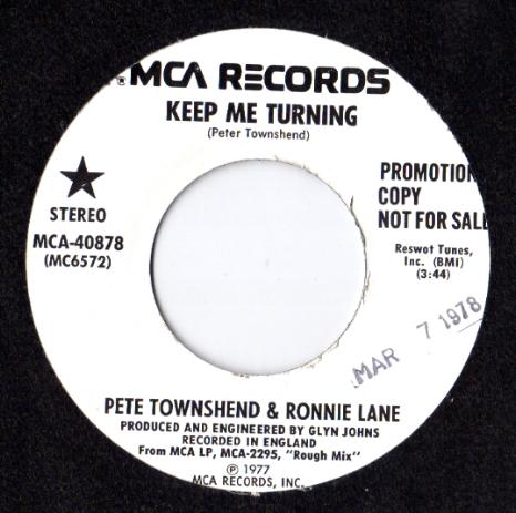 Pete Townshend & Ronnie Lane