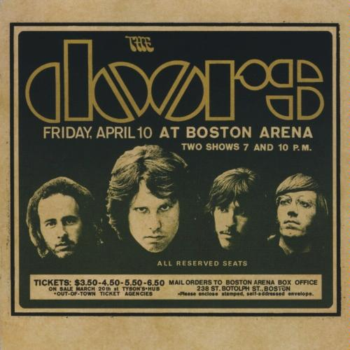 The Doors Live In Boston Cover