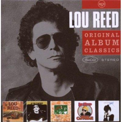 Lou Reed Original Album Classics Cover