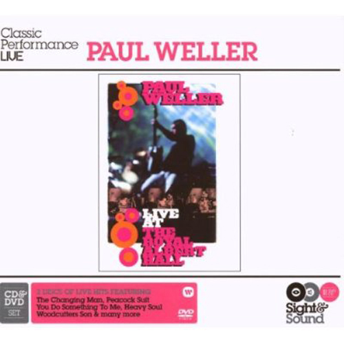 Paul Weller Sight And Sound Live Cover