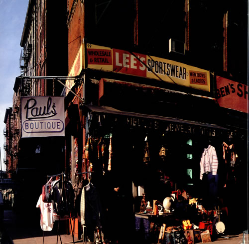 Beastie Boys Paul's Boutique Cover