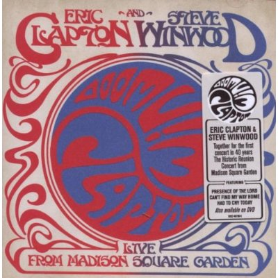 Clapton Winwood Live Madison Square Garden Cover