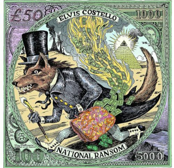 Elvis Costello - National Ransom, Cover
