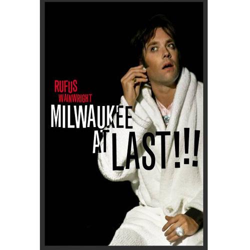 Rufus Wainwright Milwaukee At Last DVD-Cover