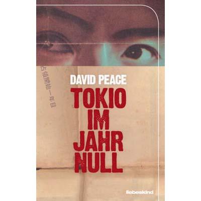 David Peace - Tokio im Jahr Null, Cover