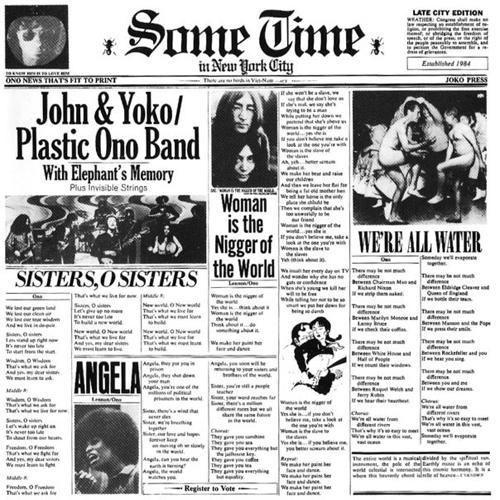 John Lennon Some Time In New York City Cover