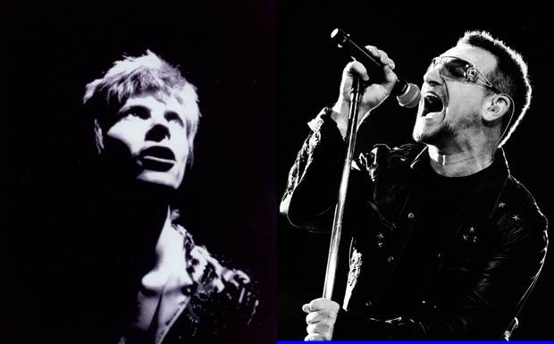 David Bowie / Bono