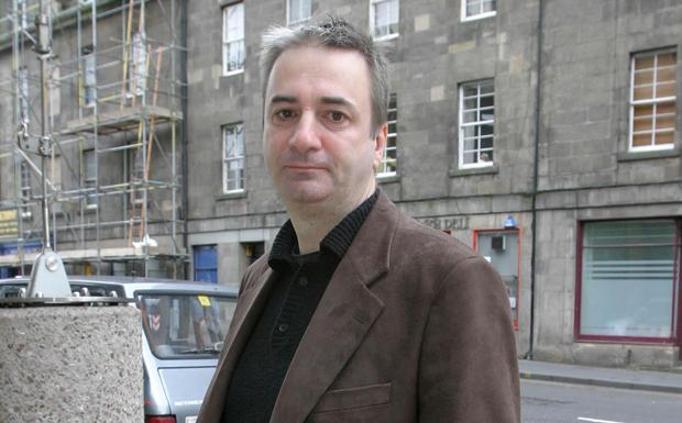 Paul Morley music journalist and broadcaster. Edinburgh International Conference Centre.Date: 27.08.2005Ref: B164_091325_00