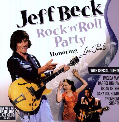 Jeff Beck RocknRollParty Cover