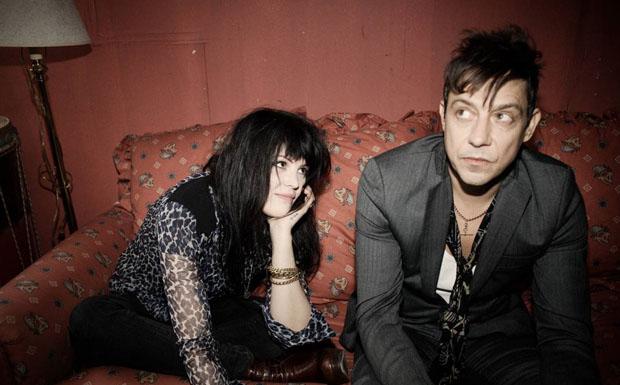 Alison Mosshart und Jamie Hince alias The Kills