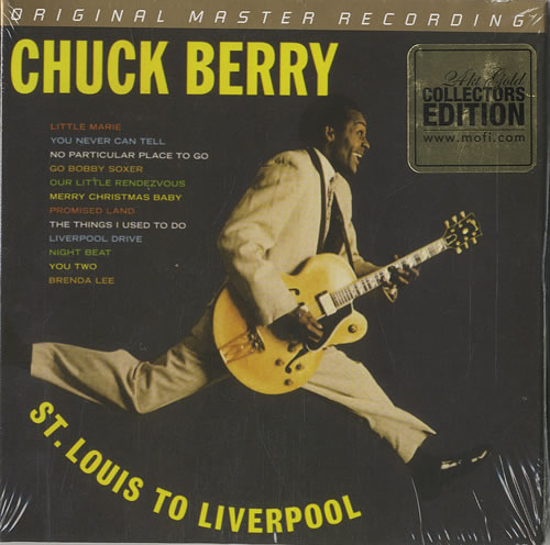 Chuck Berry St.Louis To Liverpool Cover