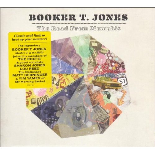 Booker T Jones The Road From Memphis Cover