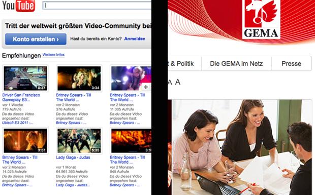YouTube/GEMA