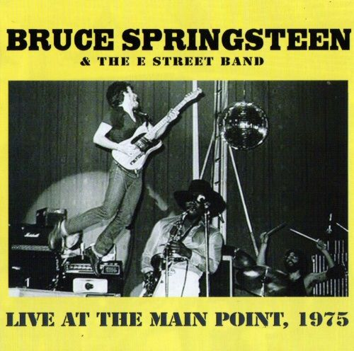 Bruce Springsteen Live At The Main Point Cover