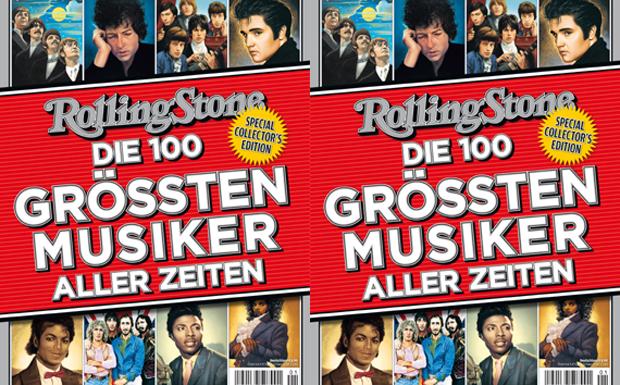 RS Sonderheft: 'Die größten 100 Musiker aller Zeiten'