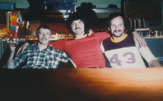 David Bowie, Tony Visconti und Eduard Meyer