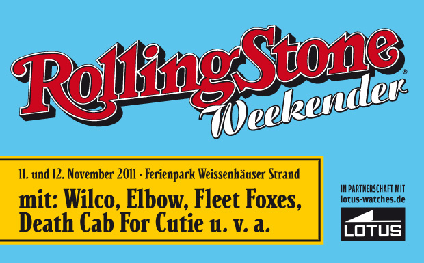 Rolling Stone Weekender