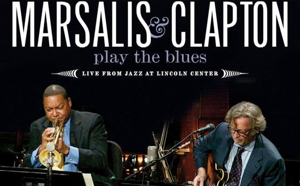 Wynton Marsalis und Eric Clapton