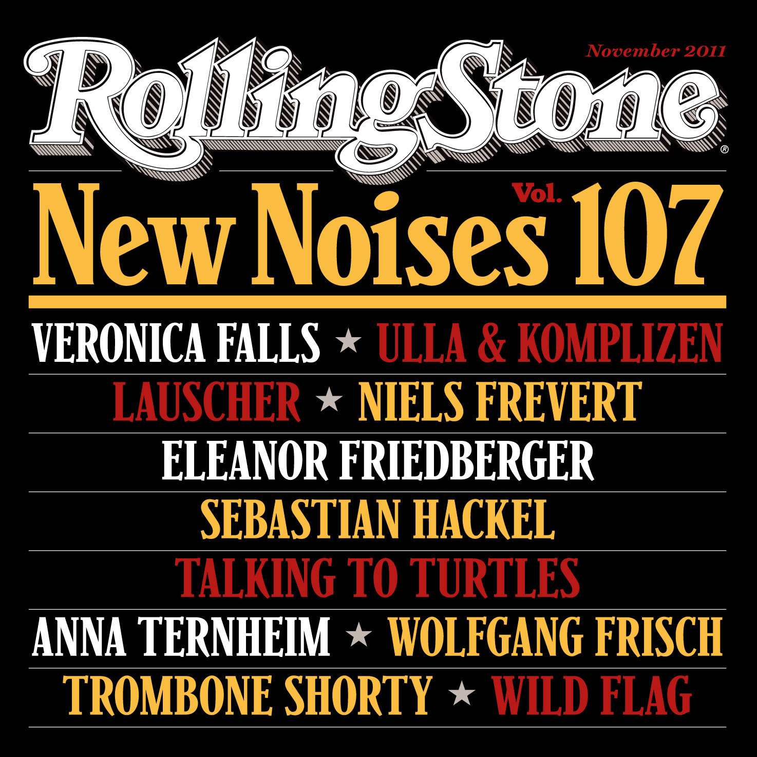 New Noises Vol. 107