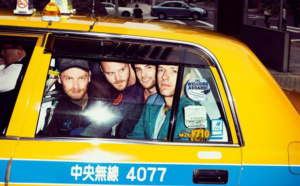 Coldplay Japan