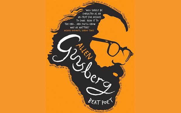 Allen Ginsberg Beat Poet Cover