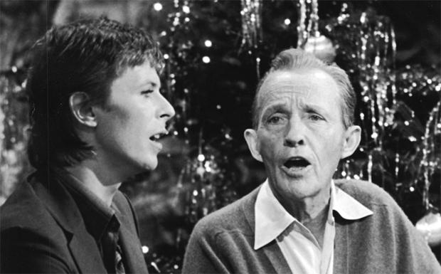 David Bowie und Bing Crosby