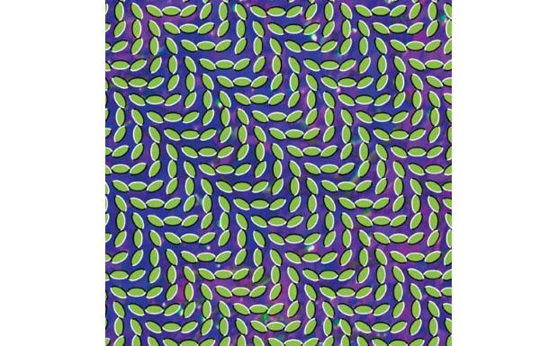 So mehr man versucht das hier abgebildete Muster zu fokussieren, desto weniger geht es - es beginnt zu leben und Wellen zu sc