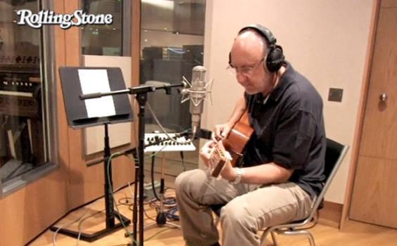 Pete Townshend im Studio