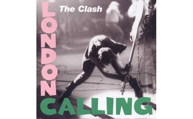The Clash nahmen sich für 'London Calling' dann Elvis Rahmen - doch wurde die Gitarre hier nicht gespielt, sondern zerschmet