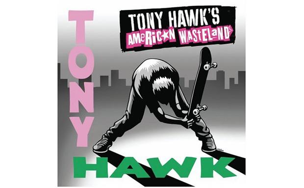 Die Tony Hawk Figur - wie könnte es anders sein - nimmt das Skatebord zur Hand.