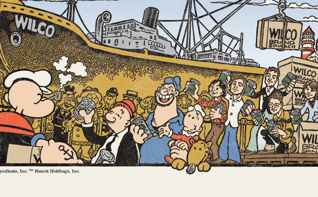 Popeye meets Wilco
